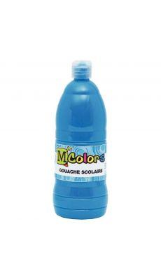 Gouache liquide cyan - Flacon de 1L