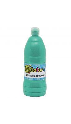 Gouache liquide vert emeraude - Flacon de 1L