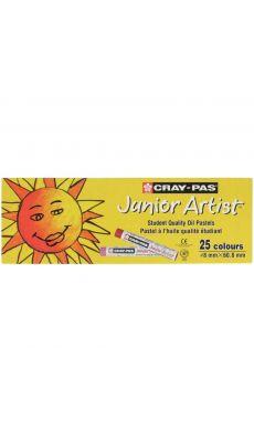 OZ INTERNATIONAL - XEP 25 - Craie pastel a l'huile cray-pas junior artist - boite de 25