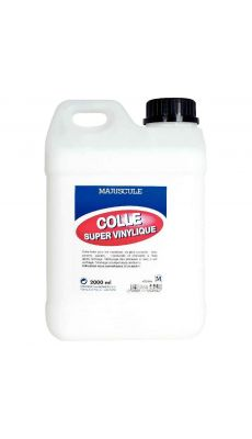 Colle super vinylique - flacon de 2l