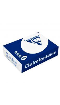 Clairefontaine - 1910 - Ramette papier A5 80g - Blanc - 500 Feuilles