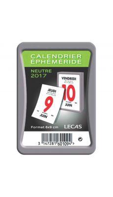 LECAS - 60109 - Bloc ephemeride sous boitier 6x9cm Lecas