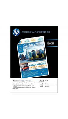 HP - Q6550A - Papier photo mat spécial laser 200g - A4 - Boite de 100 feuilles