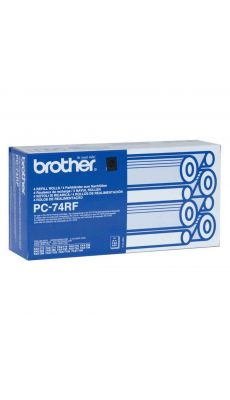 Brother - PC74RF - Recharge  - Pack de 4