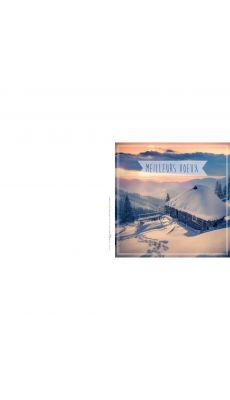 Bouchut grandremy - Carte de vœux thème neige - Paquet de 25