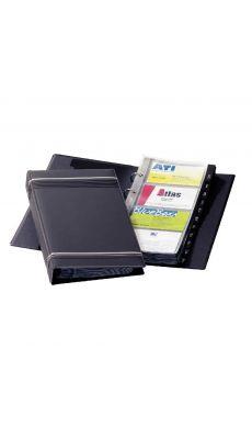 Durable - 2385-58 - Reliure carte de visite Visifix gris - 200 Cartes