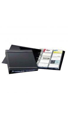 Durable - 2388-58 - Reliure carte de visite Visifix gris - 400 Cartes