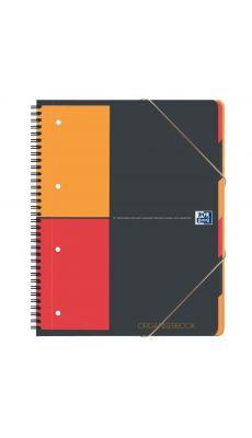 OXFORD OFFICE - 100202777 - Cahier organiser book trieur reliure intégrale 180p 5x5