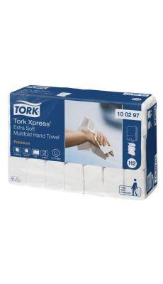 TORK - Essuie-mains enchevetres extra doux gf - carton de 2100