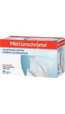MERCUROCHROME - 0504556 - Compresse sterile 20x20 - boite de 60
