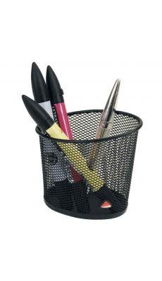 ALBA - MESHCUP N - Pot à crayon métal Mesh noir