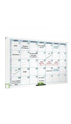 Planning magnétique mensuel perform 60x90 cm