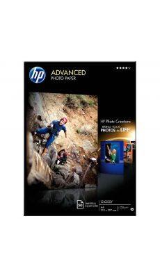 HP - Q8698A - Papier photo finition brillante 250g - A4 -  Boite de 50 feuilles