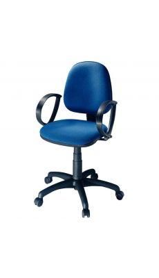 Chaise dactylo SATURN bleu