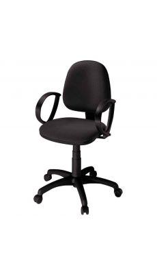 Chaise dactylo SATURN noir