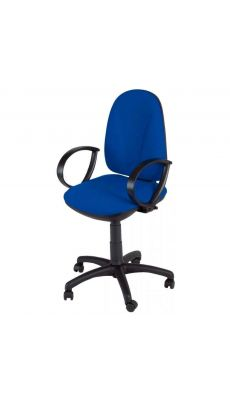 Chaise dactylo synchrone WEBSTAR bleu