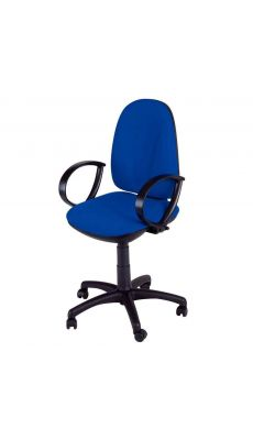Chaise dactylo WEBSTAR bleu