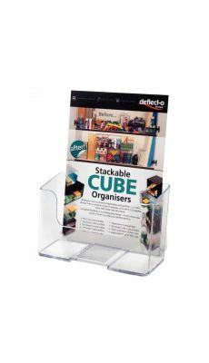 Deflecto - 74901 - Porte brochures comptoir vertical 1 case A5