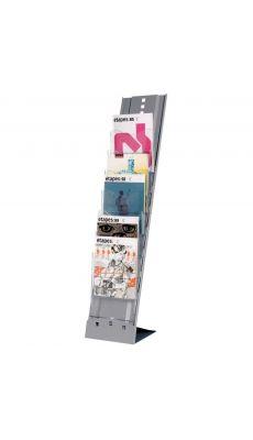 PAPERFLOW - 2857 35 - Presentoir fixe metal 7 cases A4