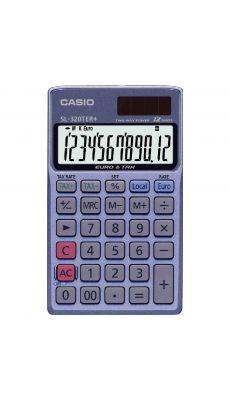 Casio - SL-320TER+ - Calculatrice de poche 12 chiffres