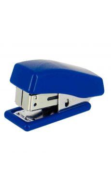 Agrafeuse de poche mini 24/6 26/6 bleu