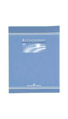 Conquerant - 504 - Cahier piqûre réglure maternelle grand carreaux 4mm - 17x22 cm - 32 Pages