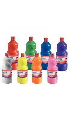 OMYACOLOR - 84003 - Gouache liquide - Carton de 8 flacons 1l