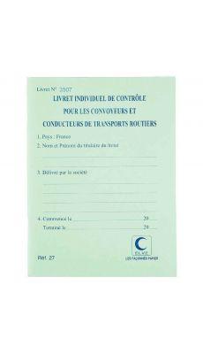 LEBON & VERNAY - 27 - Carnet de controle du vehicule Lebon & Vernay