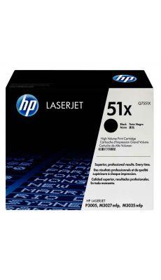 Toner HP Q7551X noir