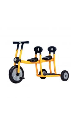 Bi-tricycle 4/6ans 2place jaune