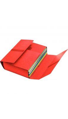 FAST - 100725704 - Chemise JUMBO 4 rabats velcro - Rouge