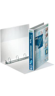 LEITZ - 4202-00-01 - Classeur personnalisable soft click A4+ - dos 50 mm