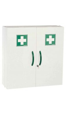 ROSSIGNOL - Armoire pharmacie 2 portes blanc