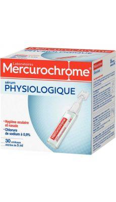 MERCUROCHROME - 50800 - Doses de serum physiologique - boite de 30