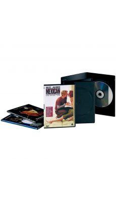 Boitier vide slim noir pour 1 dvd - Lot de 10