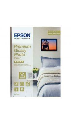 Epson - C13S042155 - Papier photo premium glacé - A4 - 255g - Paquet de 15