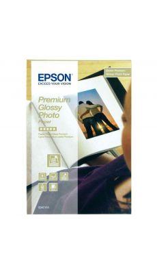 Epson - C13S042153 - Papier photo premium glacé - 10x15 cm - 255g - Paquet de 40