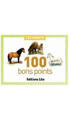 """Images """"les poneys"""" - boite de 100"""