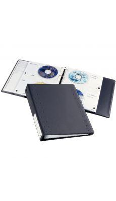 Classeur 4 anneaux pour rangement cd/dvd