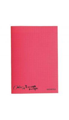 Cahier de travaux pratiques piqures polypropylene A4 ( grand carreaux + dessin ) 96p