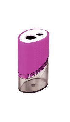 LOCAU - 26545 - Taille crayons en metal 2 usage + reserve
