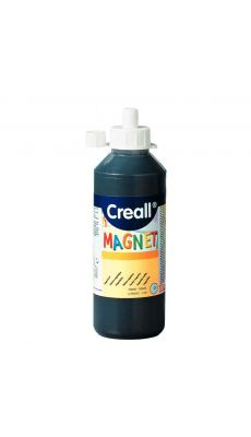 Peinture magnetique noire - flacon de 250ml
