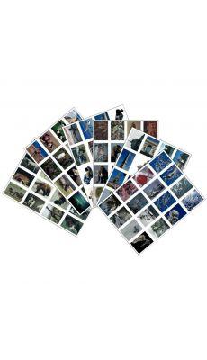 Images en planche - Lot de 96