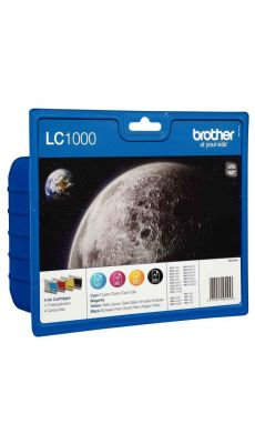 Brother - LC1000 - Cartouche couleur