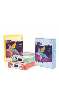 First - 73648 - Ramette papier A4 80g - Vert vif - 500 Feuilles