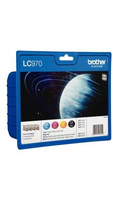 Brother - LC970VALBP - Cartouche couleur