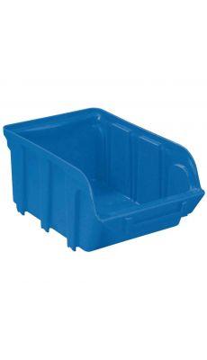 Bac a bec en polypropylene 240x128x150mm bleu