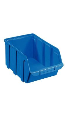 Bac a bec en polypropylene 330x155x205 bleu