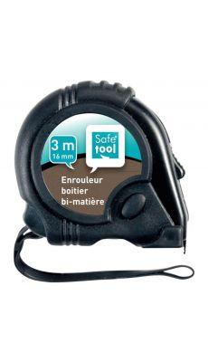 LOCAU - 4662.01 - a ruban 3 metres, boitier en caoutchouc