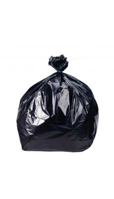 Sacs poubelles 130l pour dechet standard 40 microns - carton 200